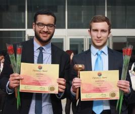 Award d'Olivier Massi et de Thomas Cuvelier